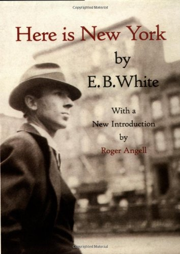 Hardback cover of Here is New York
