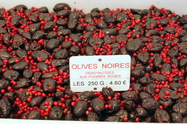 One of many varieties of olives