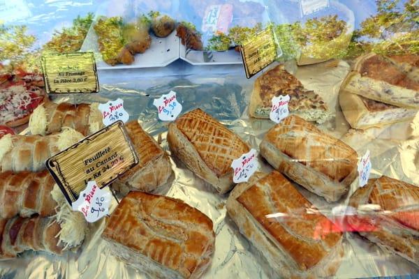 feuilleté au canard (duck in puff pastry)