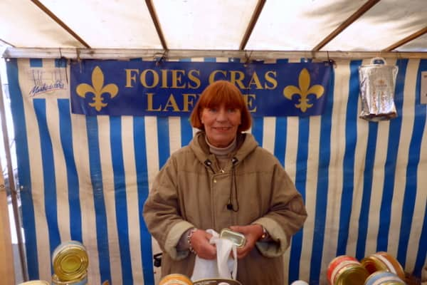 Piece de resistance - Foie Gras Lady - Yes, we stopped for a taste