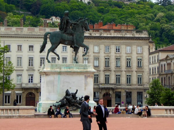 Statue of Louis XIV at Place Bellecour