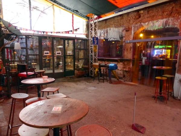 Szimpla Kert, one of the city's ruin bars
