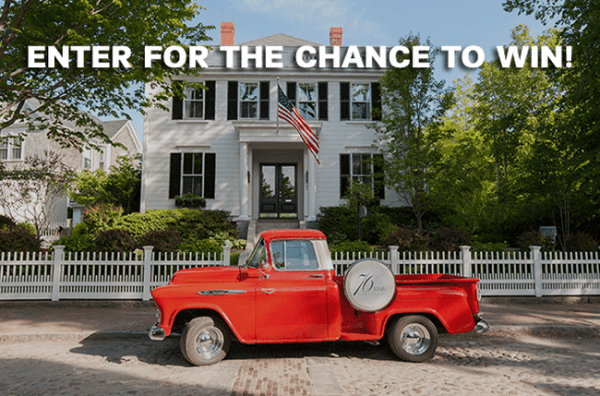 Win a trip for two to Nantucket