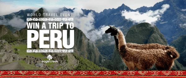 Win a trip to Peru