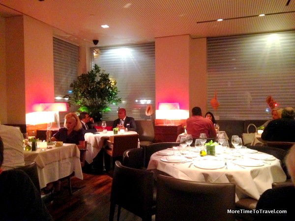 Dining room at Marea