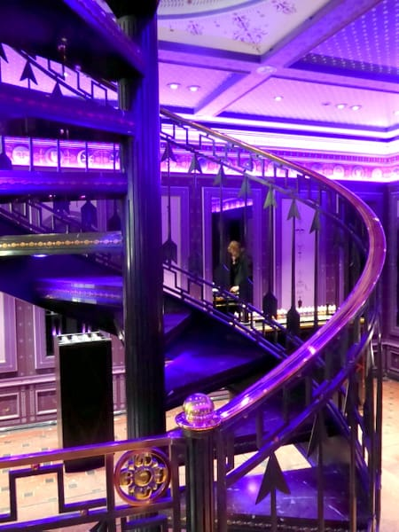 The spectacular circular staircase