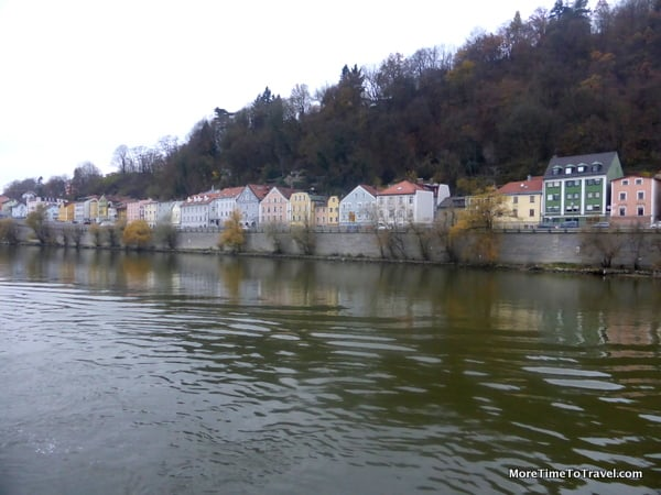 One of the beautiful towns along the Danube