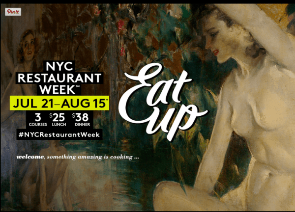 NYC Restaurant Week at The Leopard at des Artistes