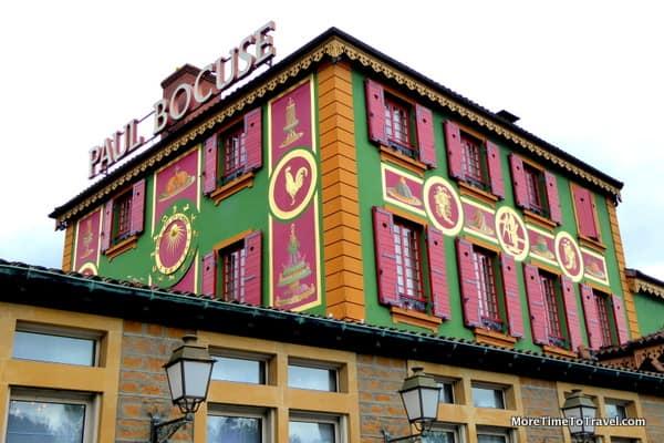 Exterior Paul Bocuse Restaurant at L'Auberge du Pont de Collonges