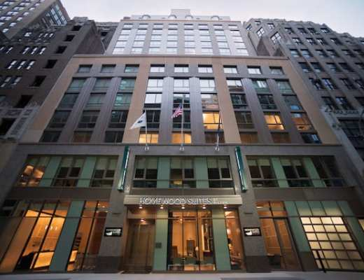 Exterior of Homewood Suites New York/Midtown Manhattan Photo credit: Homewood Suites by Hilton
