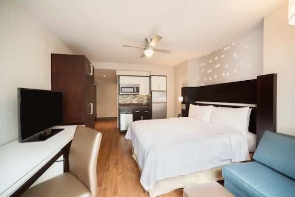 Efficiency Studio with King Bed at Homewood Suites New York/Midtown Manhattan Photo credit: Homewood Suites by Hilton