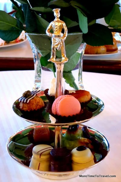Petits fours plate at Paul Bocuse