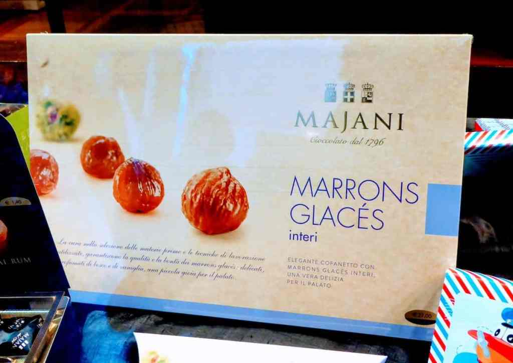 A specialty of autumn, Majani marrons glace