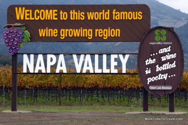 Welcome to Napa Valley Sign