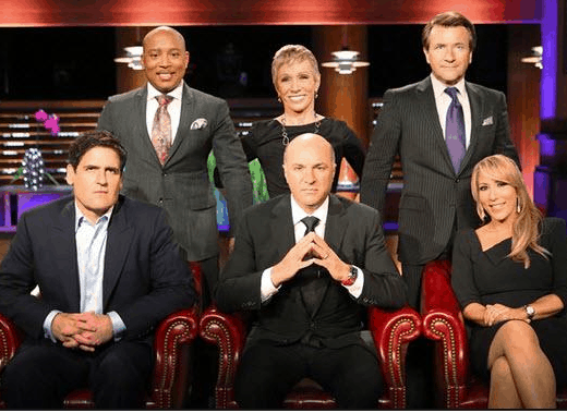 Screenshot: The Sharks of Shark Tank