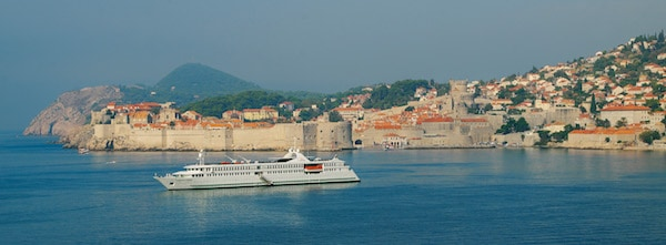 The itinerary for CroisiEurope's intern includes a cruise along the Croatian coast. (CroisiEurope)