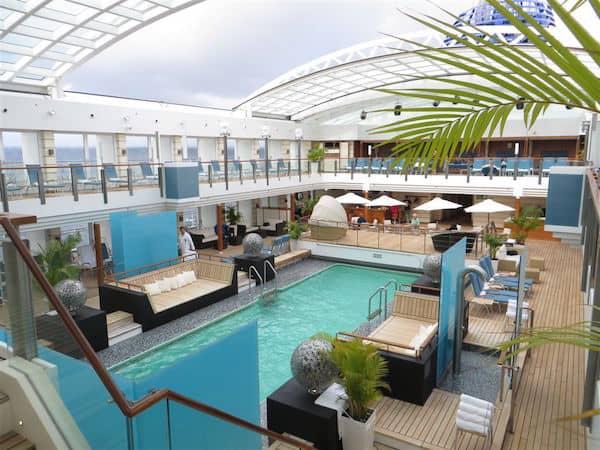 Europa2 pool deck