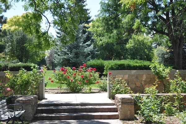 The Rose Park aka Harvey Cornell Rose Park (Credit: Santa Fe Travelers)