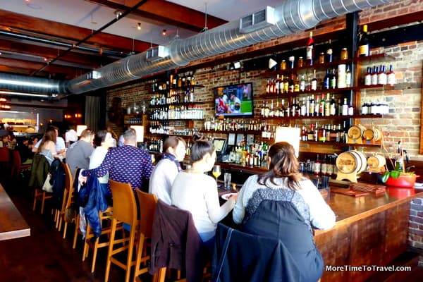 The bar at The MacIntosh