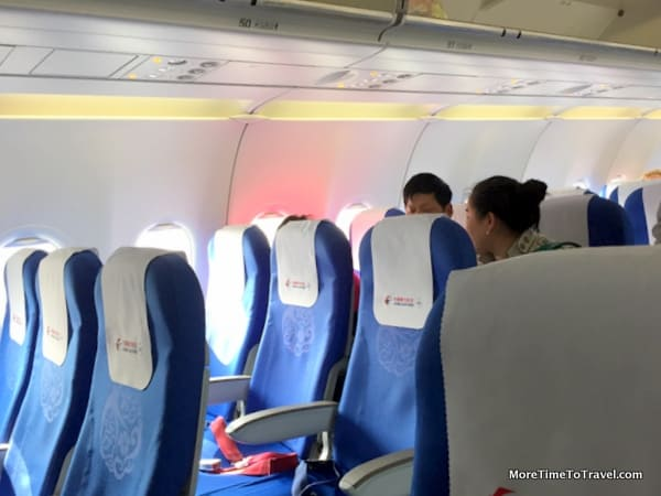 Seats on China Eastern Airlines