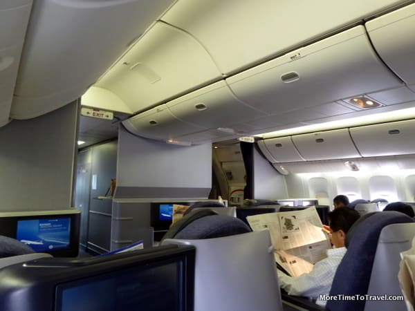 Our BusinessFirst cabin