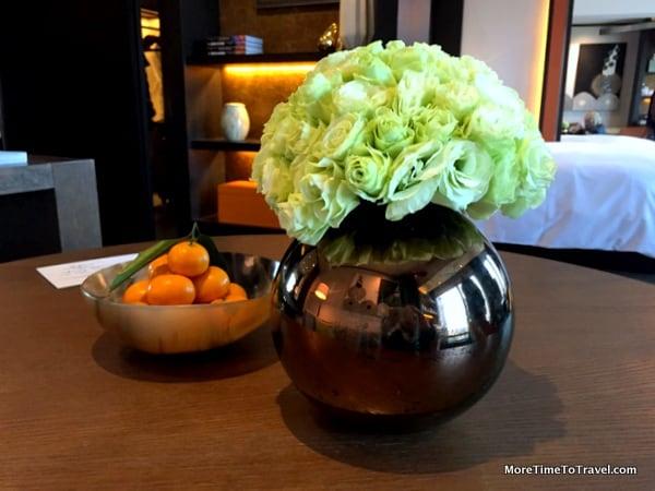 Fragrant mandarin oranges