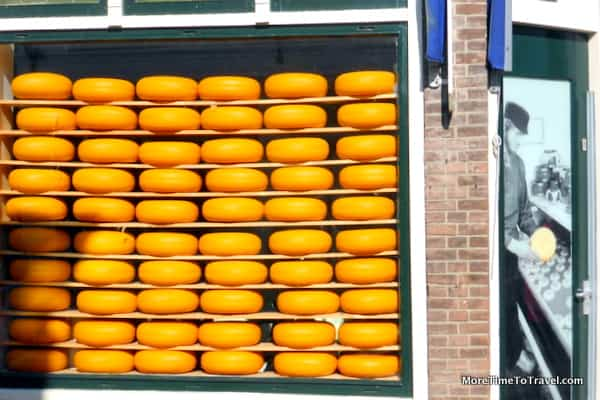 A cheese shop in Edam