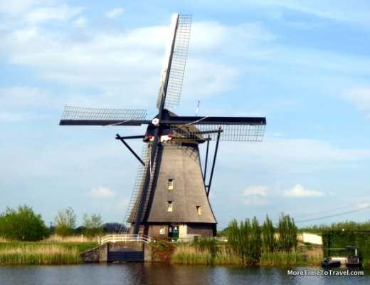 One of the windmills of Kinderdijk