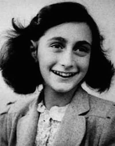 Anne Frank (Credit: Wikipedia)