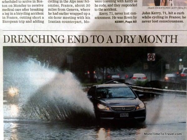 Front page Boston Globe 6-1-15