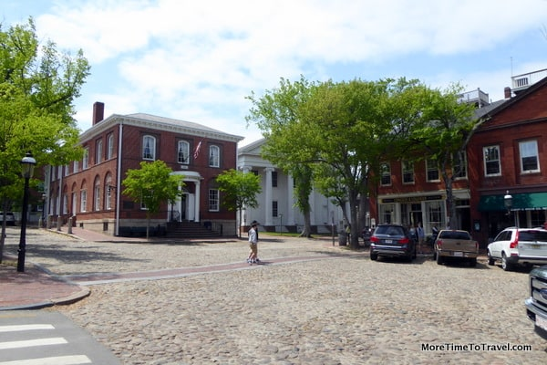 Downtown Historic District with Cobblestone Streets