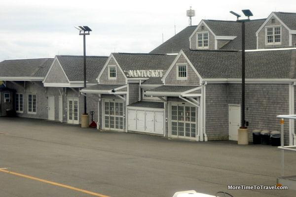 Arriving at Nantucket