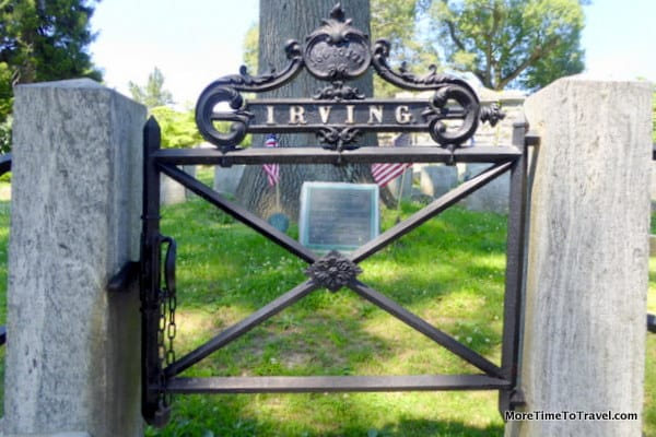 Gate to the Irving Family Gravesite