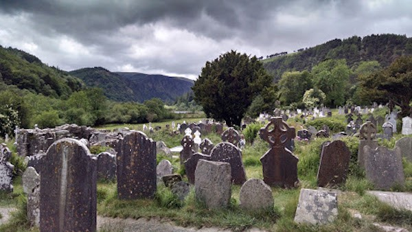Cemetery at Glendalough Ireland (credit: Andrew Levine)