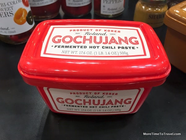 Korean fermented hot chili paste