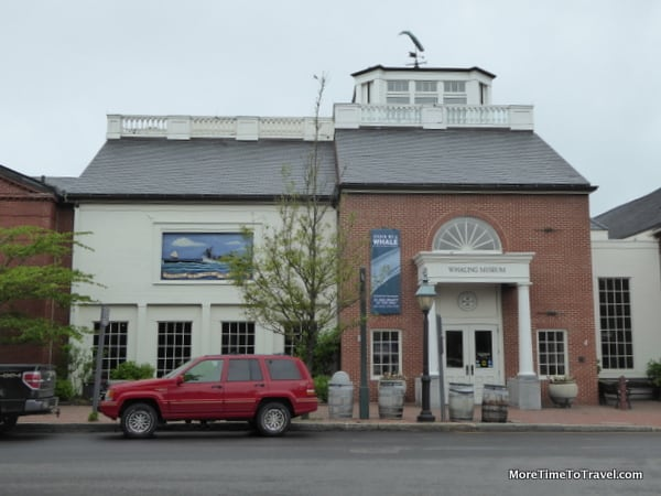 Exterior of Nantucket Whaling Museum