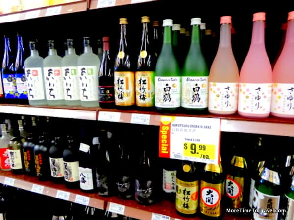 Abundance of choice for sake lovers