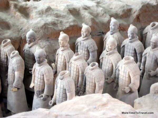 Some of the Terracotta Warriors