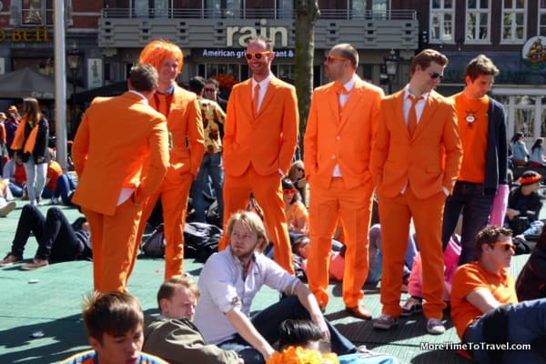 Revery on King's Day in Amsterdam