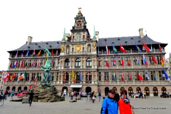 Antwerp's Grote Markt