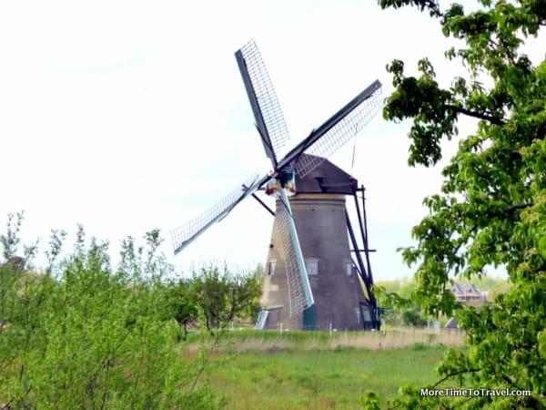 The windmills at Kinderdijk