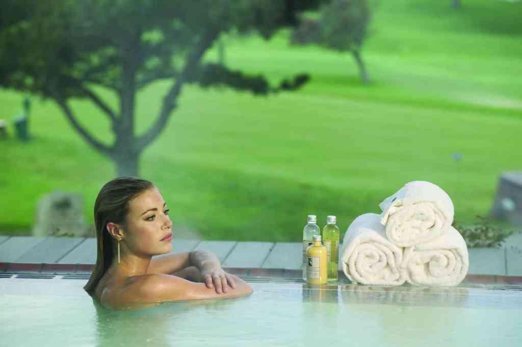 Spa pool (Credit: The Lodge at Torrey Pines)