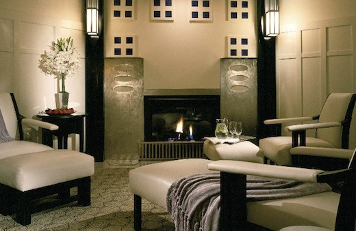 Spa Lounge (Credit: The Lodge at Torrey Pines)