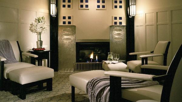 Spa Lounge (Credit: The Lodge at Torrey Pines)