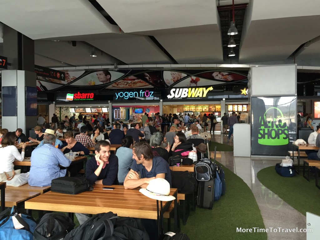 Food court in Terminal 2
