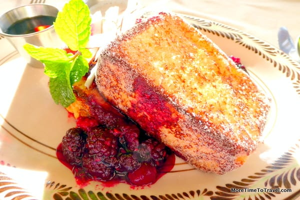 French toast at The Resort at Pedregal
