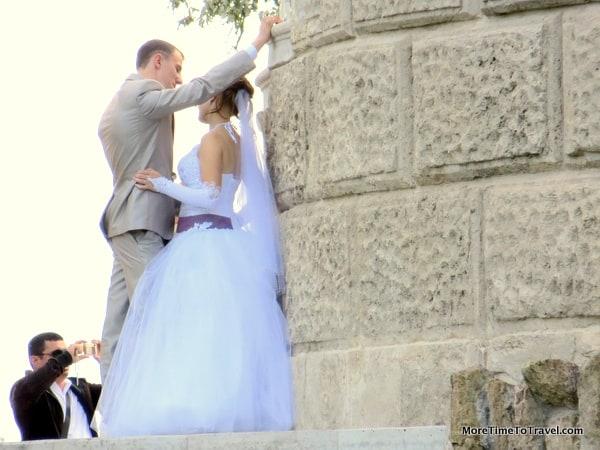 Wedding in St. Petersburg, Russia