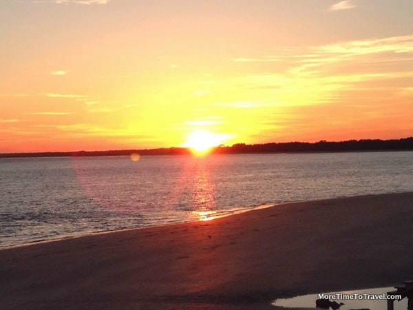 Seabrook Island sunset