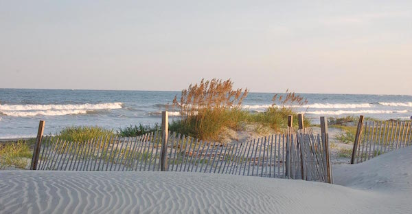Unspoiled beaches of Seabrook Island (Credit: Charleston CVB)