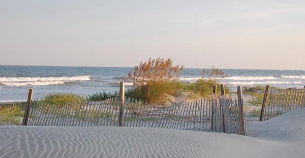 Unspoiled beaches of Seabrook Island (Credit: Charleston CVB)
